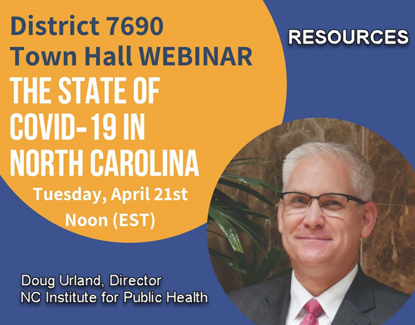 District 7690 Town Hall - COVID-19